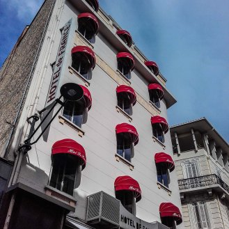 Photo façade hôtel